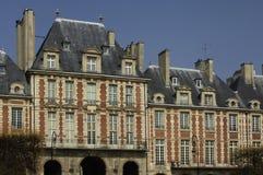 Quadrat von Paris Lizenzfreie Stockfotografie