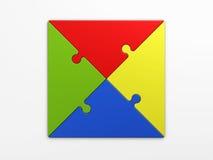 Quadrat, zum von Konzepten zu setzen Lizenzfreie Stockbilder