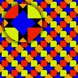 Quadrate kopieren mit Sonderkommando stock abbildung