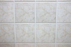 Quadrate marmortegelplattor. Arkivfoton