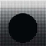 Quadrate weiß und schwarz stock abbildung