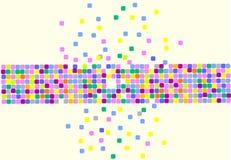 Quadrati illustrazione vettoriale
