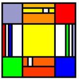 Quadrati Immagini Stock