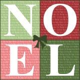 Quadrati 2 di Buon Natale illustrazione di stock
