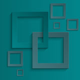 Quadrati astratti della priorità bassa Royalty Illustrazione gratis