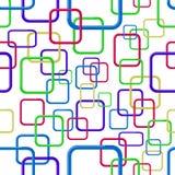 Quadrati astratti senza giunte Fotografia Stock Libera da Diritti