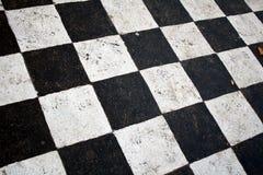 Quadrati in bianco e nero Fotografia Stock Libera da Diritti