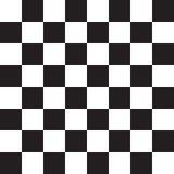 Quadrati in bianco e nero Scheda di scacchi Vettore Illustrazione Immagini Stock