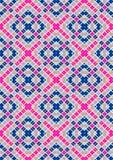 Quadrati blu e porpora verticali eterogenei su un fondo leggero Immagini Stock Libere da Diritti