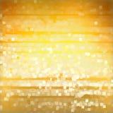 Quadrati chiari su priorità bassa gialla Immagine Stock Libera da Diritti