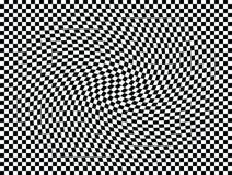 Quadrati commoventi uno di arte op Immagine Stock Libera da Diritti