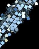 Quadrati del metallo Immagine Stock
