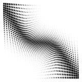 Quadrati del semitono di vettore di curvatura dell'estratto illustrazione di stock