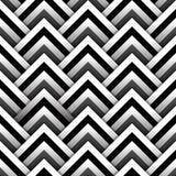 Quadrati di carta con il modello senza cuciture dell'ombra in bianco e nero, vettore Immagine Stock Libera da Diritti