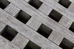Quadrati di legno Fotografia Stock Libera da Diritti
