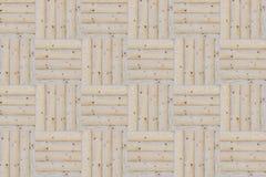Quadrati di legno Immagini Stock Libere da Diritti