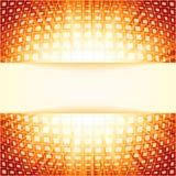 Quadrati di tecnologia con il burst rosso del chiarore. ENV 8 Fotografia Stock