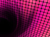 Quadrati di tecnologia con il burst verde del chiarore. ENV 8 Immagine Stock Libera da Diritti