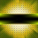 Quadrati di tecnologia con il burst viola del chiarore. ENV 8 Fotografia Stock Libera da Diritti