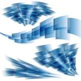 Quadrati dinamici Immagini Stock