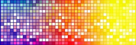 Quadrati molto piccoli variopinti illustrazione di stock