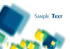 Quadrati Multi-colored obliquo Fotografia Stock Libera da Diritti