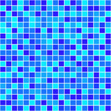 Quadrati variopinti del mosaico Vettore Fotografie Stock