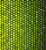 Quadrati verdi astratti Immagini Stock