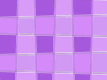 Quadrati viola Immagini Stock