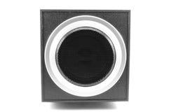 Quadratische akustische Sprecher Stockfotos