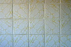 Quadratische Badezimmer-Fliesen Stockbilder