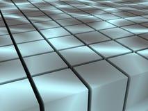 Quadratische Blöcke lizenzfreie abbildung