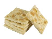Quadratische Cracker Stockfoto