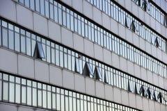Quadratische Fenster Stockfoto