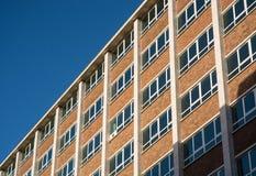 Quadratische Fenster Lizenzfreie Stockbilder