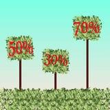 Quadratische Grasbälle Stockbilder