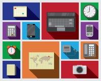 Quadratische Ikone der Ausrüstung Lizenzfreie Stockbilder
