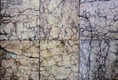 Quadratische Marmorbeschaffenheit Lizenzfreie Stockfotografie