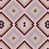Quadratische nahtlose Beschaffenheit mit Rosa und Braun stock abbildung