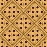 Quadratische nahtlose Mustervektorillustration Lizenzfreie Stockfotos