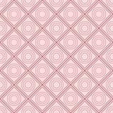 Quadratische nahtlose Mustervektorillustration Lizenzfreies Stockbild