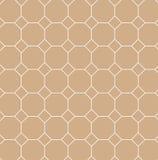 quadratische Neigung mit Achtecklinie Muster Stockbild