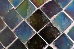 Quadratische Stücke Glas Lizenzfreies Stockfoto