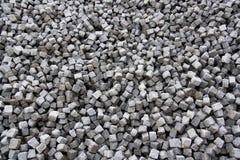 Quadratische Steine Stockfotografie