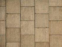 Quadratische Wand der Maurerarbeit Lizenzfreie Stockfotografie
