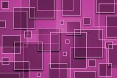 Quadratischer abstrakter Hintergrund vektor abbildung