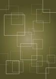 Quadratischer abstrakter Hintergrund Lizenzfreies Stockbild
