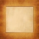 Quadratischer alter freier Raum Stockfotos