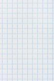 Quadratischer checkered Papierhintergrund Stockbilder