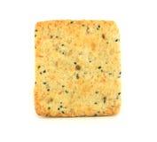 Quadratischer Cracker Stockfoto